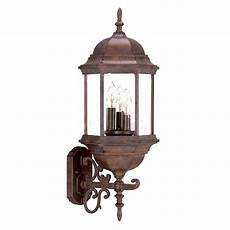 acclaim lighting st charles collection 2 light copper pantina outdoor wall light fixture