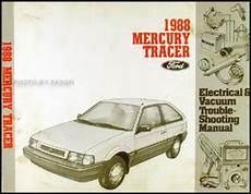free service manuals online 1991 mercury tracer engine control 1987 1988 mercury tracer repair shop manual original