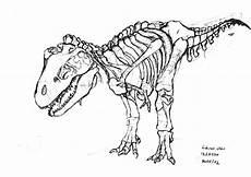 portfolio pencil sketch t rex