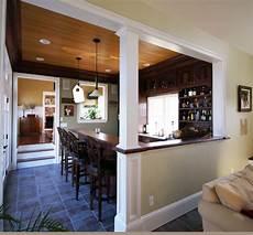 Half Wall Between Living Room And Dining Room Wood Room