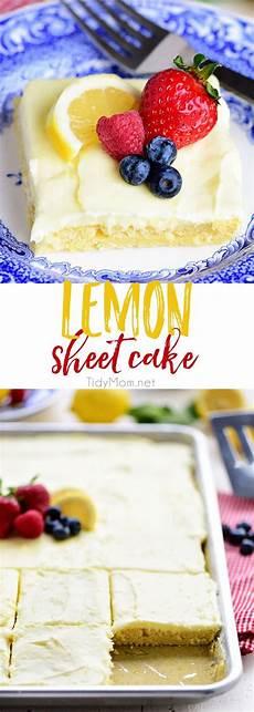 lemon sheet cake is pure lemon bliss in every bite tidymom 174