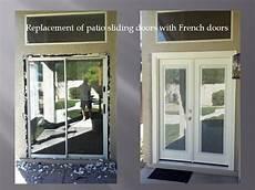 Replace Sliding Door With Doors
