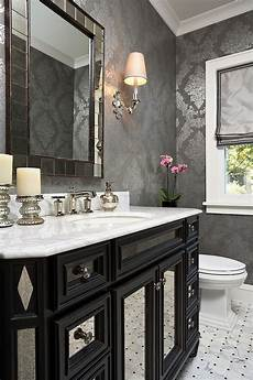 Black Grey And White Bathroom Ideas Always On Trend 20 Powder Rooms In Black And White