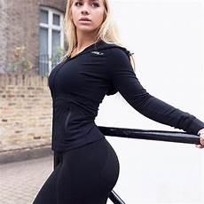 gymshark female fitness gymshark women s crest hoodie black fitness fashion