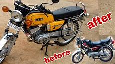 Rx 100 Modif by Yamaha Rx 100 Modified Matel Yellow Colour