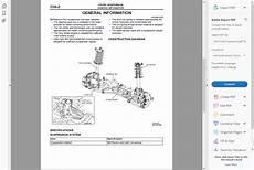 factory workshop service repair manual mitsubishi colt 2002 2012 wiring ebay