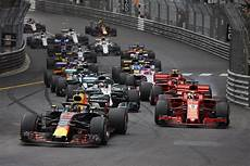 2018 F1 Monaco 1 Ricciardo Leads Initial Start Steve