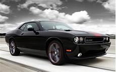 black dodge challenger american muscle car desktop wallpaper
