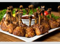 Smoked Chicken Lollipops with Cola BBQ Sauce   Char Broil