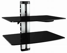 hifi wandregal hifi regal dvd wandhalterung glas wandboard glasregal xl