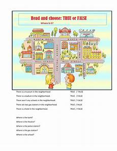 places in my neighbourhood worksheets 16015 places in my neighborhood interactive worksheet