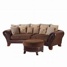 big sofa york kunstleder braun home24
