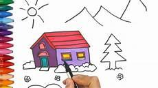 Wie Haus Zeichnet Wie Zeichnet Ein Haus