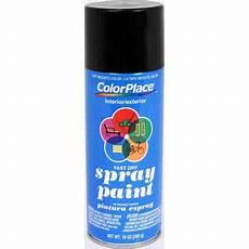 colorplace flat spray paint black walmart com