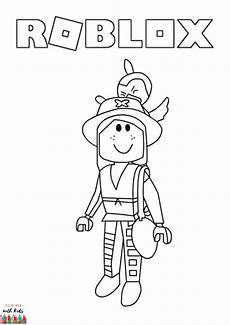 Malvorlagen Topmodel Roblox Roblox Character Coloring Page In 2020 Coloring