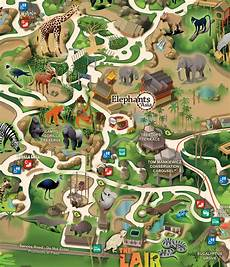 los angeles zoo map and travel information download free los angeles zoo map