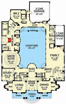 house plans with courtyard in middle luxury with central courtyard house layout plans luxury