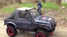 my friends made with suzuki sj 413 in a ford back