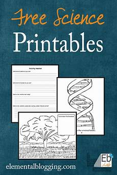 science printables and freebies elemental blogging