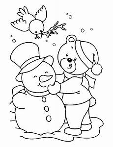 printable winter coloring pages at getcolorings