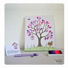 arbre à empreintes sur toile arbre 224 empreintes 24 x 30 cm th 232 me fleurs ftulipes et