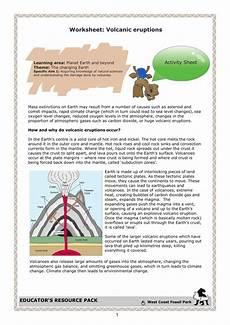 science worksheets volcanoes 12440 worksheet volcanic eruptions