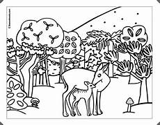 Malvorlagen Kinder Wald Ausmalbilder Malvorlagen Wald Kostenlos Zum Ausdrucken