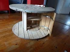 table basse bobine bois id 233 e le recyclage des tourets create n decorate en