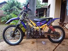 Jupiter Z Modif Trail by Modifikasi Jupiter Z Jadi Trail Thecitycyclist