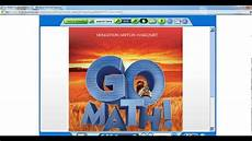 think central student parent access for go math digital products youtube