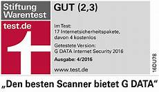 stiftung warentest stiftung warentest g data security hat den