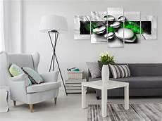 wohnzimmer grün grau wandbilder abstrakt grau rot gr 252 n leinwand bilder