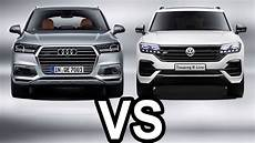 2019 audi q7 vs 2019 volkswagen touareg comparison