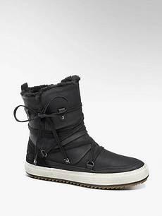 boots venice in schwarz deichmann