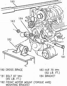 book repair manual 2004 oldsmobile silhouette engine control 1996 oldsmobile silhouette water pump replacement bolt torque repair guides water pump