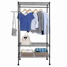 Garment Storage Organizer zimtown closet system storage organizer garment rack