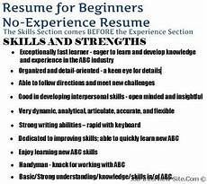 the no experience resume style how to create a solid