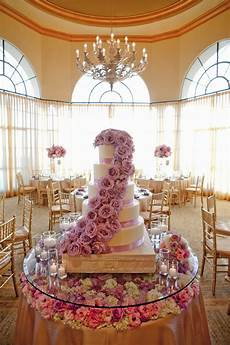 fabulous wedding cake table ideas using flowers the