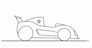 Cartoon Race Car Imageshow To Draw A