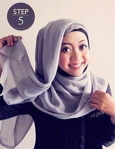 Cara Mudah Memakai Jilbab Segi 4 Syifa Al Qulub