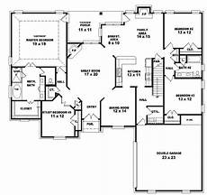 4 bedroom double storey house plans inspirational 2 story 4 bedroom 3 bath house plans new