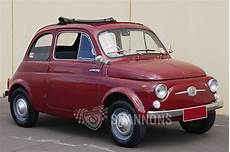 sold fiat 500 nuova bambino 2dr sedan auctions lot 14