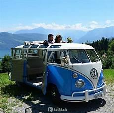 vw t1 samba hochzeitsbus mit chauffeur in aargau kaufen
