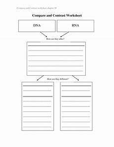 7 best images of compare and contrast worksheets compare