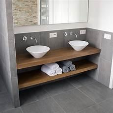 mensole in bagno mensole bagno in legno massello 140 x 45 cm mensole