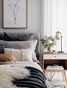 Bett Skandinavischer Stil - skandinavischer stil bett und holztisch schlafzimmer