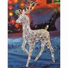 Reindeer Decorations Outdoor by Outdoor Reindeer Doliquid