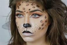 Leopard Schminken Tolle Und Simple Ideen F 252 R Leopard