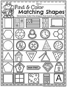 shapes math worksheets for kindergarten 1187 shapes worksheets planning playtime
