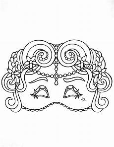 carnival mask for kid 1 masks coloring pages for to